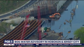 Boil water advisory for Hoboken, Jersey City following water main break