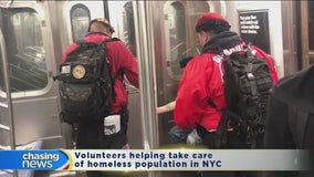 Guardian Angels hit the streets of New York City amid coronavirus outbreak
