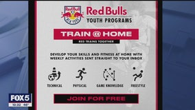 NY Red Bulls offer free online training; team captain Davis talks about group fitness