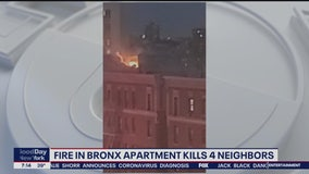4 women dead in Bronx apartment fire