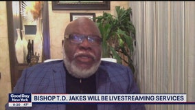 Bishop T.D. Jakes to host April 12 streaming service