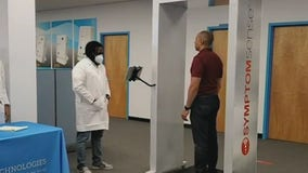 Walk-thru scanner could help screen people for illnesses