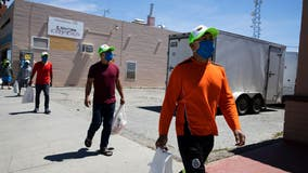 Immigrants deliver food, 'hope' to workers hit by pandemic