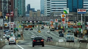 New York-bound Holland Tunnel closed overnight for Sandy repairs