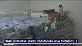 Food distribution center opens on Long Island