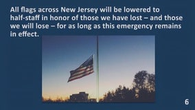 New Jersey lowers flags to half-staff as COVID deaths rise