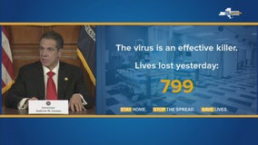 Cuomo: Virus is 'effective killer'; 799 more deaths in NY
