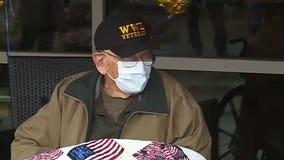 WWII veteran and coronavirus survivor celebrates his 104th birthday
