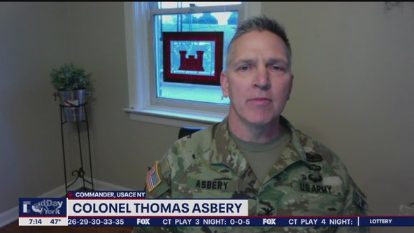 Colonel with US Army Corps of Engineers on new hospitals planned