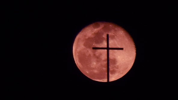 April's 'Super Pink Moon' will light up the night sky as the first supermoon of spring