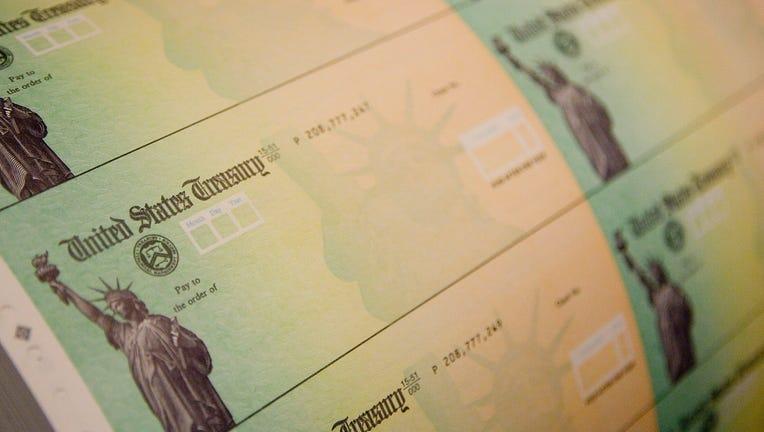 af25f009-Economic Stimulus Package Tax Rebate Checks Printed