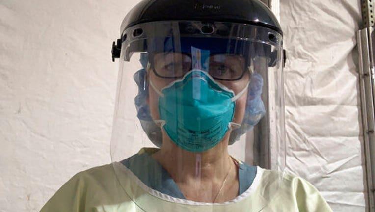 Emergency room nurse Cynthia Riemer