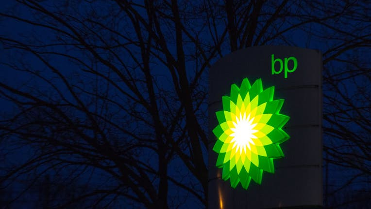BP petrol station logo