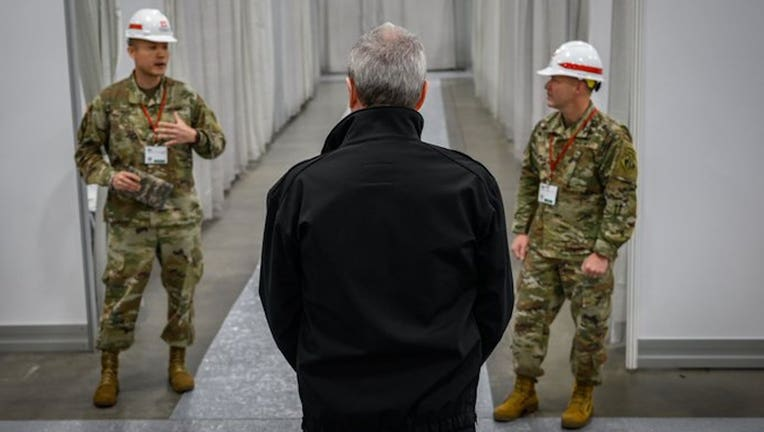 Gov. Murphy meets with National Guardsmen