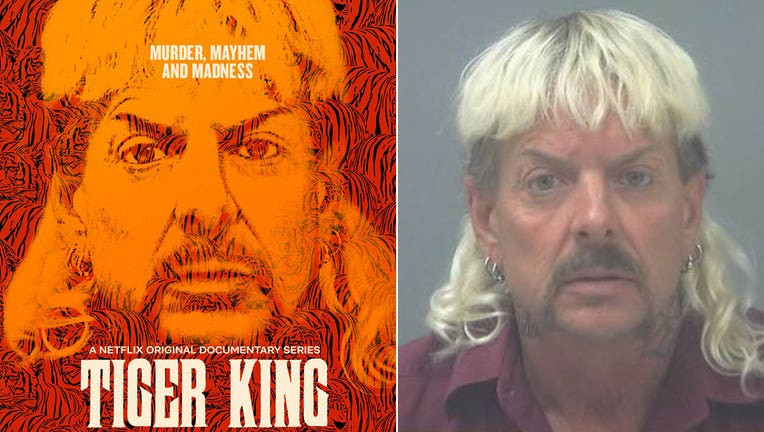 netflix tiger king with booking photo