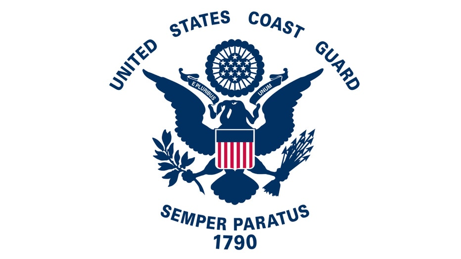 The flag of the U.S. Coast Guard