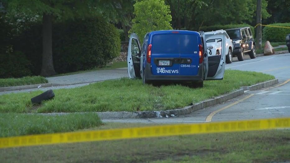 news vehicle carjacked