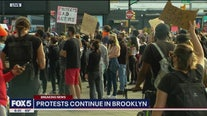 Protests continue in Brooklyn against police brutality