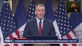 De Blasio, Shea address violent George Floyd protests in NYC
