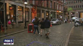 New campaign aims to remind NYC residents not to linger outside restaurants