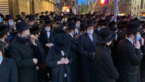 NYPD shuts down another Hasidic funeral