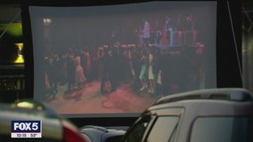 Movies on the menu at diner turned drive-in theater in Queens