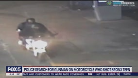 Boy shot by suspect on motorcycle in the Bronx