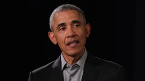 Obama returns to the campaign trail with Joe Biden fundraiser