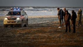 5 surfers die in storm off Dutch coast