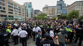 NYPD makes around 70 arrests after Union Square protest over death of George Floyd