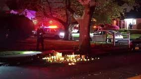 Police: Loud outdoor gathering turns violent, cops hurt