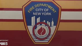 Firefighter, corrections officer hospitalized after fire at Manhattan Detention Complex