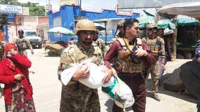 Militants attack maternity hospital in Kabul