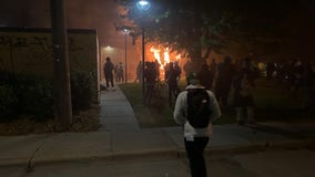 Shots fired at law enforcement officers near Minneapolis' Fifth Precinct as riots continue
