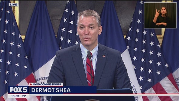 NYPD Commissioner Shea addresses violent George Floyd protests