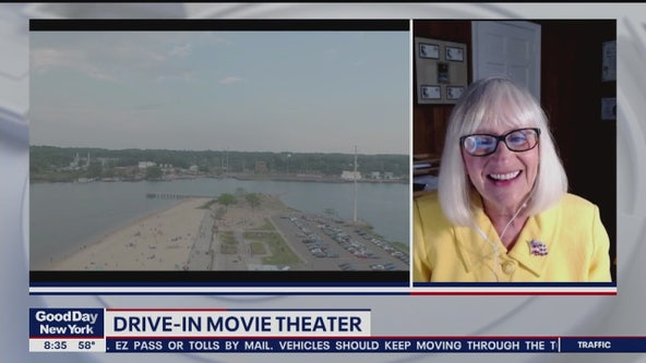 Drive In Movie Theater Opening on Long Island