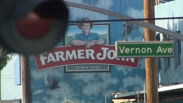 Health officials: COVID-19 outbreaks at 9 facilities in Vernon including,153 infections at Farmer John plant