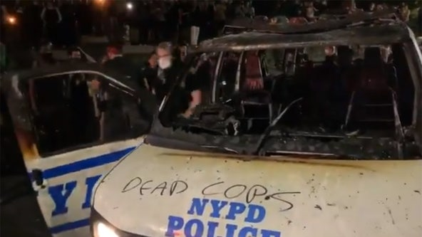 Chaos and destruction: More violence in New York City over George Floyd death