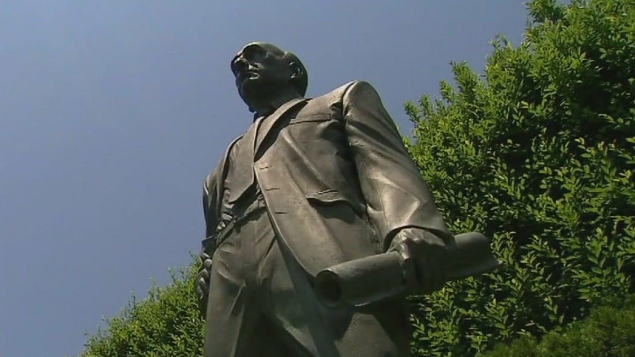 Controversy arises over statue of former Florida governor