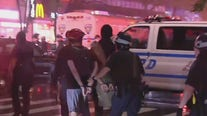 NYC protests continue during curfew
