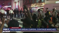 Protesters take to NYC streets for 7th straight night