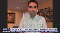 Calls for no confidence vote for de Blasio