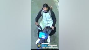 NYPD searching for suspects who struck officers with fire extinguisher, radio
