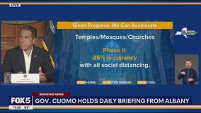 As virus ebbs, NY loosens restrictions on houses of worship