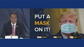 Cuomo calls on Trump to sign executive order requiring face masks
