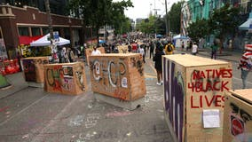 Shooting in Seattle protest zone leaves 1 dead, 1 injured