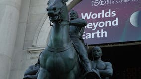 Vandals target Theodore Roosevelt statue outside AMNH