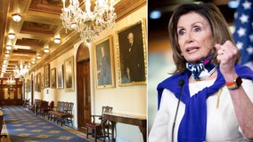 Pelosi orders removal of Confederate portraits from US Capitol