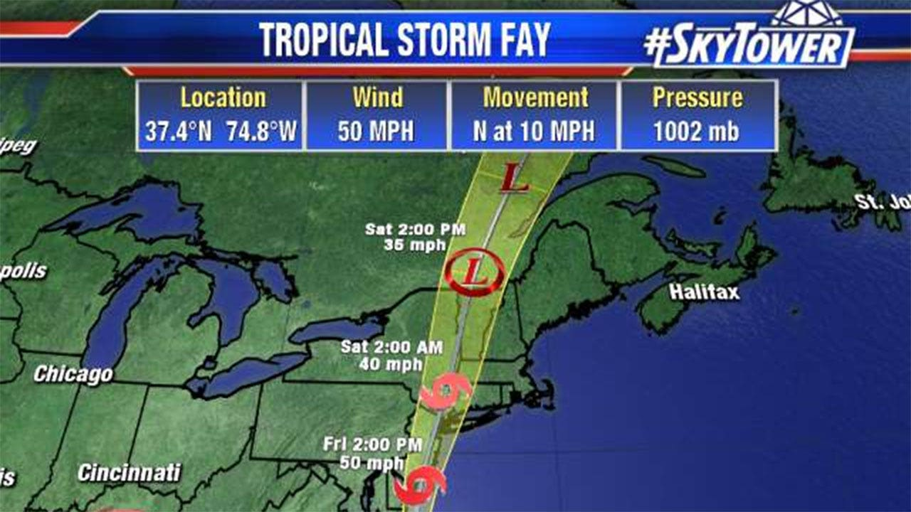 tropical storm fay - photo #4