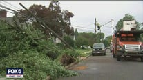 Rain, wind and minor flooding on Long Island due to Tropical Storm Fay